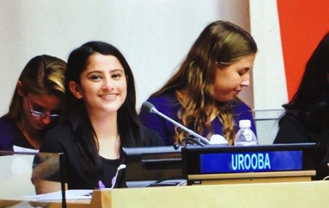 Farmingdale Senior Speaks at UN