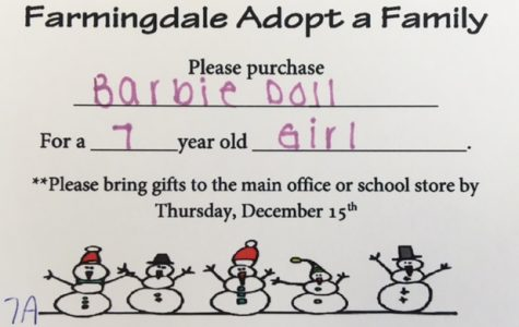 Adopt-A-Family: Thank you, Farmingdale!