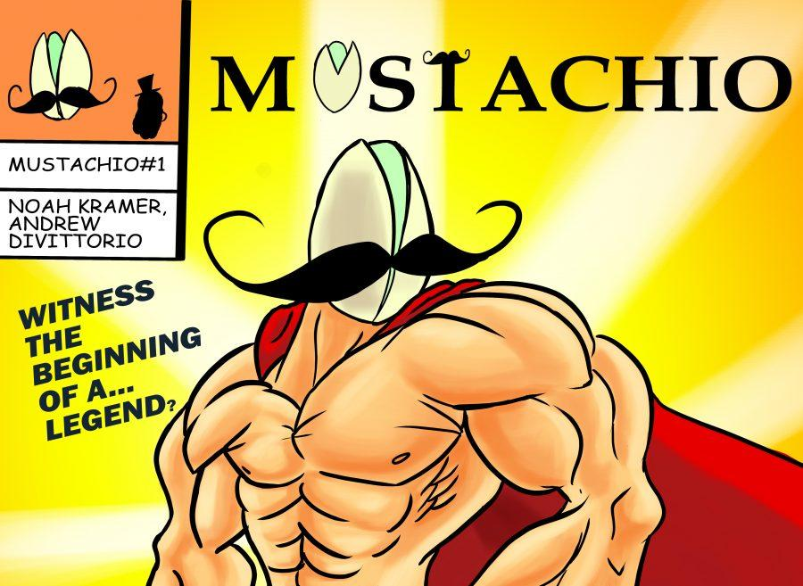 Mustachio is Here! Check out Issue #1!