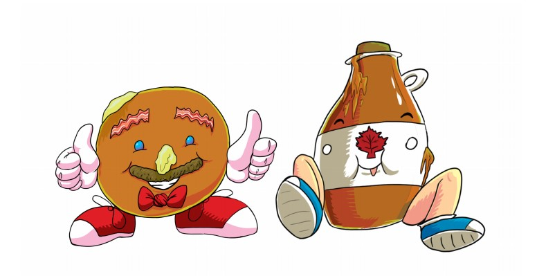 It's Pancake and Syrup Month!
