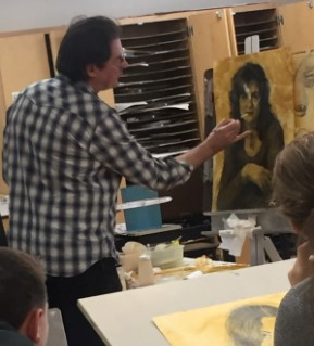 A Visit from Artist Edgar Jerins