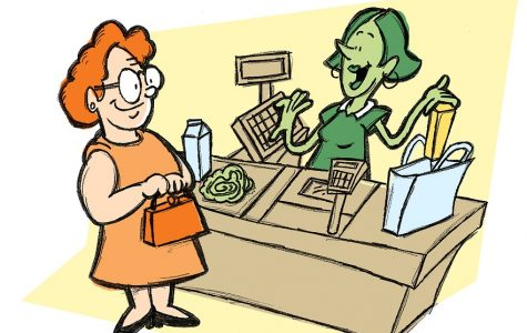 """Time to """"Checkout"""": Adventures of Cashiers"""