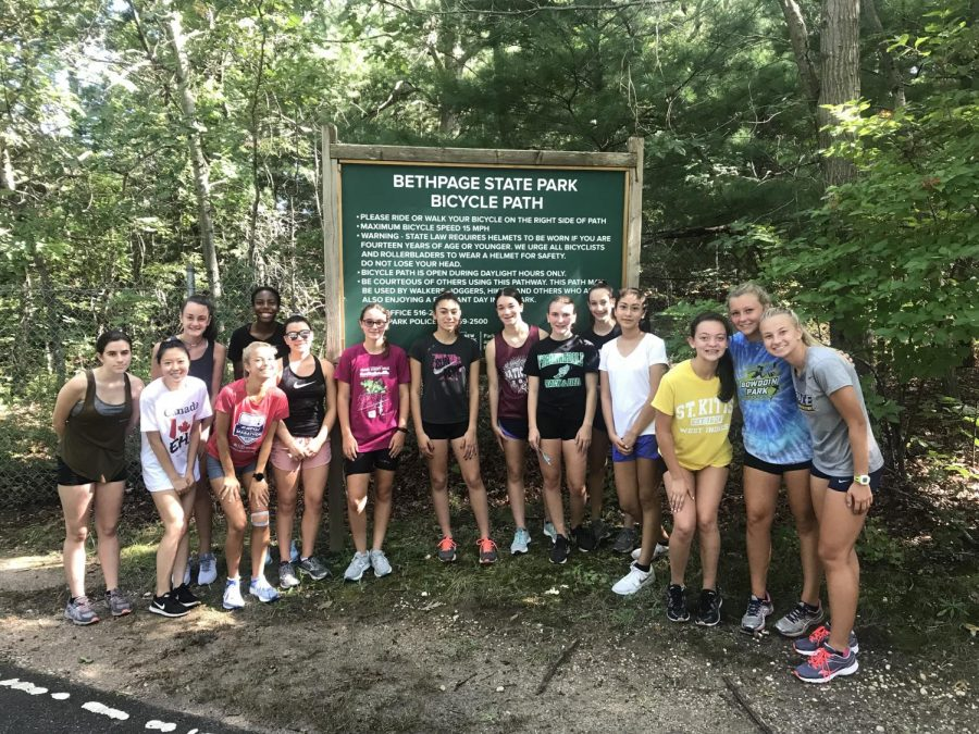 Farmingdale XC Trail Cleanup
